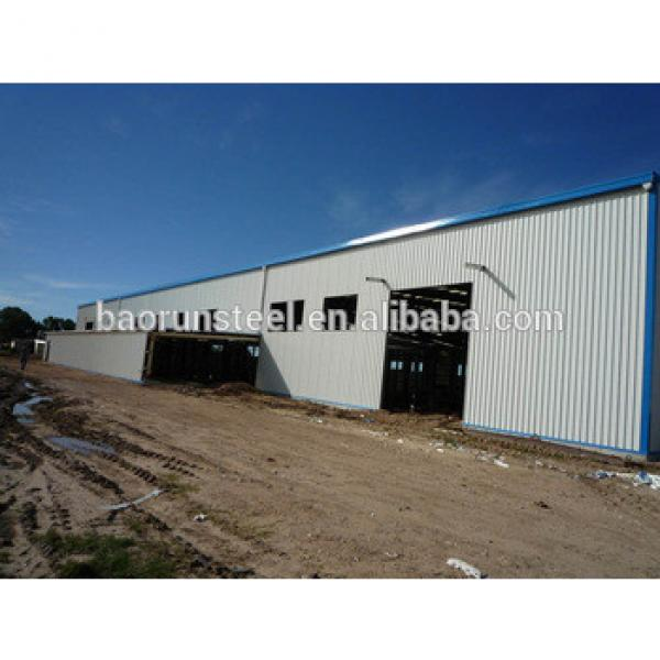 steel Prefabricated construction steel building low cost metal shed workshop #1 image