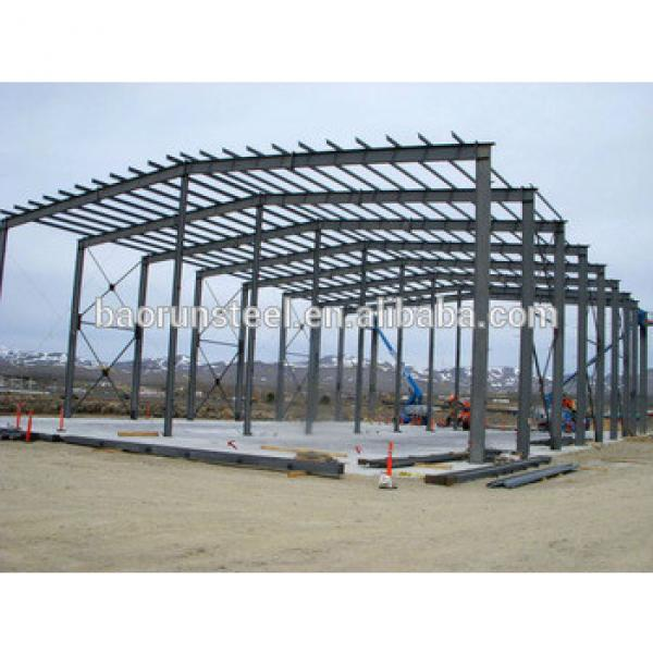 pre-engineering commercial usage steel structure buiding and house #1 image
