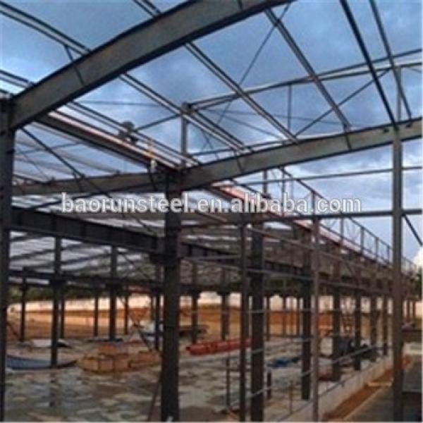 Self assemble house steel structural prefabricated warehouse #1 image