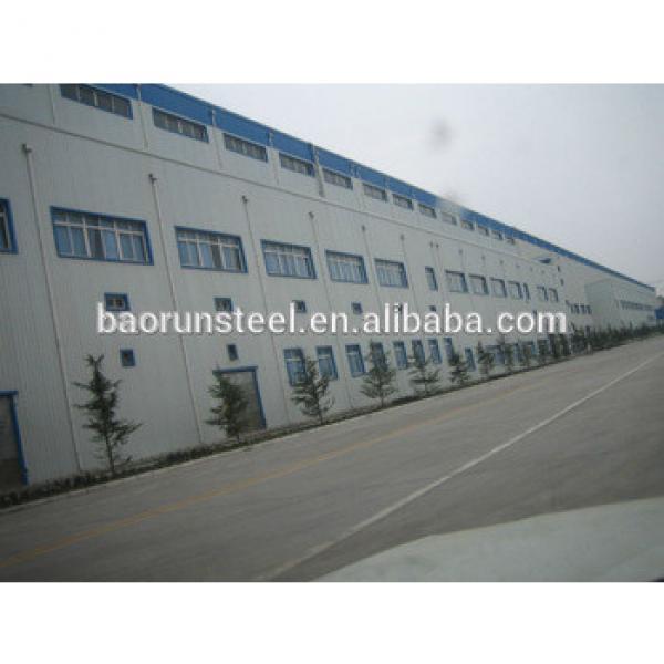 prefabricated contruction design steel structure warehouse #1 image