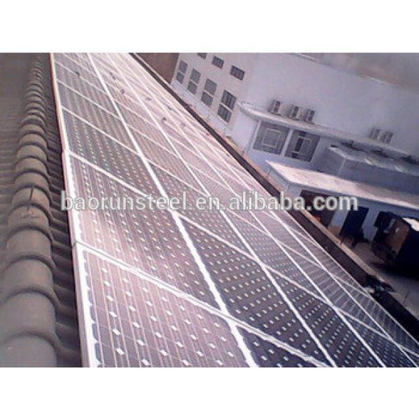 solar steel structure/building #1 image