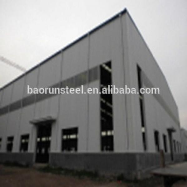 Industrial metal building prefabricated factory shed steel warehouse workshop #1 image
