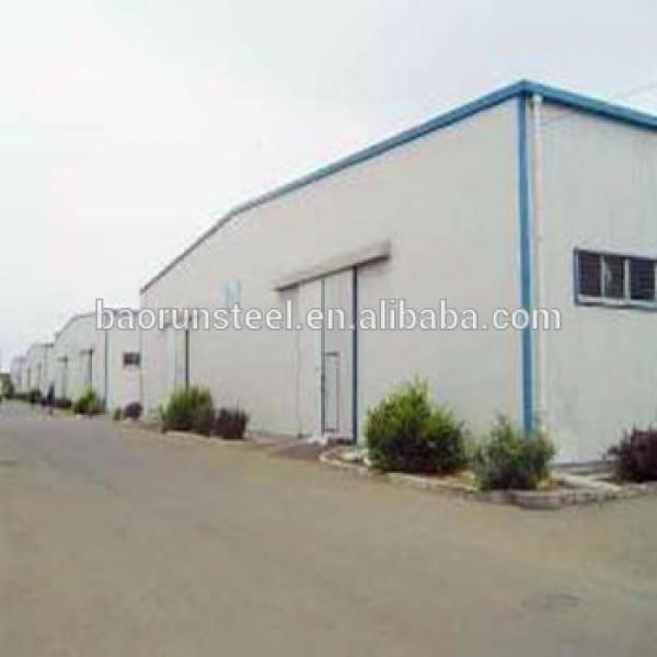 Steel structure building prefabricated warehouse/ Industrial Shed Design #1 image