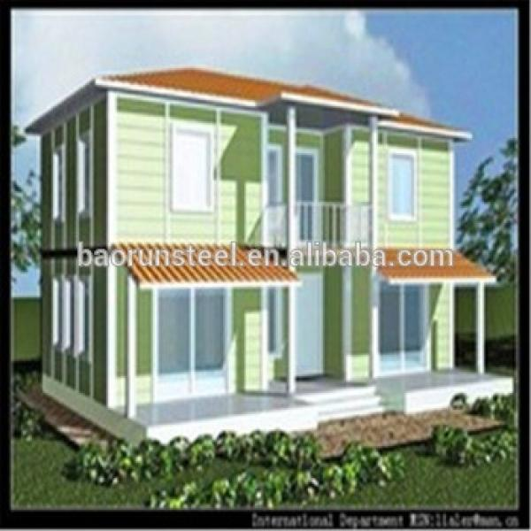 Light steel construction prefabricated villa for home with CE certificate #1 image