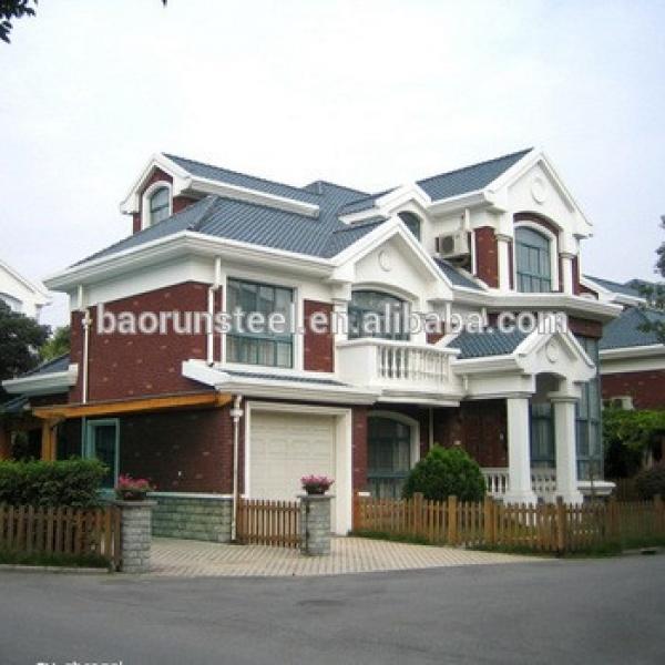 baorun prefabricated luxury villa #1 image