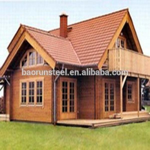 Prefabricated Log House Wooden Villa Cheap Prefab Homes #1 image