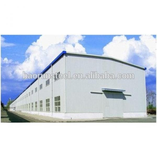 modern steel Prefabricated galvanized design steel structure construction factory building #1 image