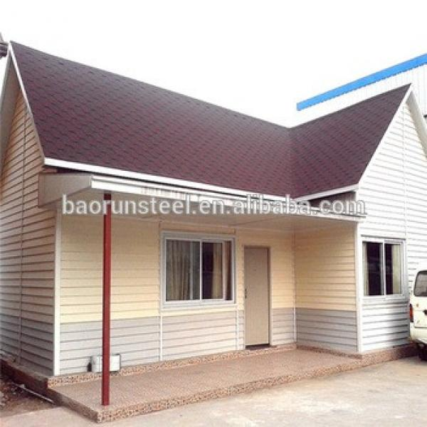 two bedroom prefabricated house plans ,economic vacation light steel house #1 image