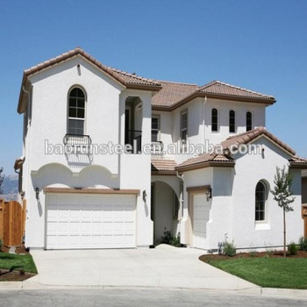 Economy of light steel structure prefabricated houses and villas (through the CE certification) #1 image