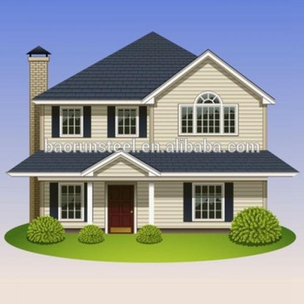 Prefabricated steel structure, light steel villa luxury design #1 image