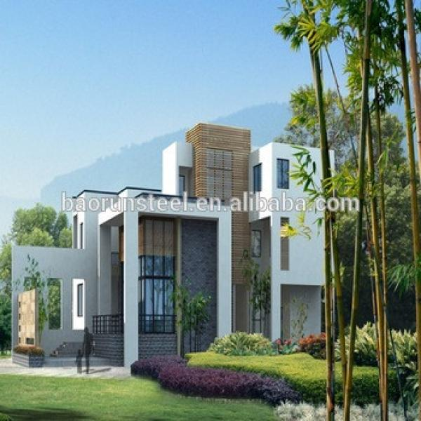 villa construction for vacation,two bedroom prefab home for holiday #1 image