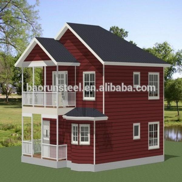 new design luxury prefab steel villa for sale #1 image
