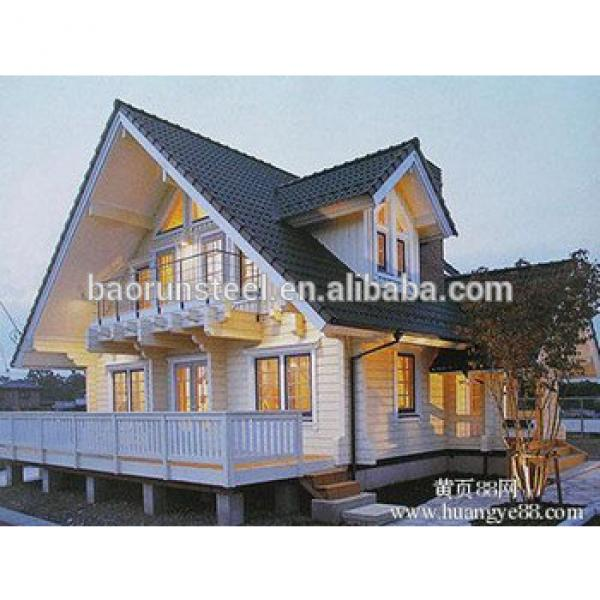 china low price steel structure building /light steel house/prefabricated villa #1 image