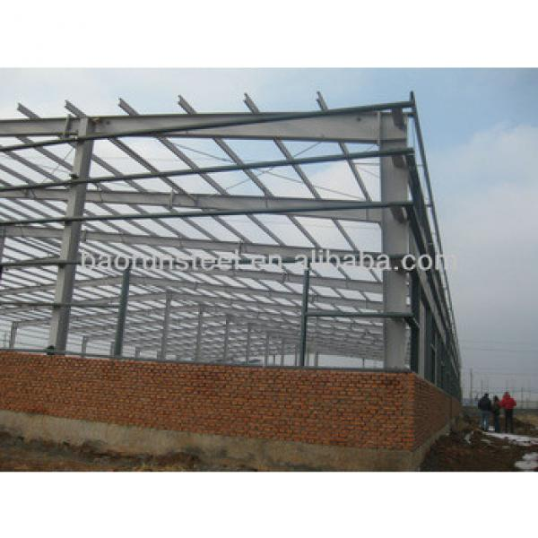pre engineered steel building steel structure workshop 10000X10000MX45M 00093 #1 image