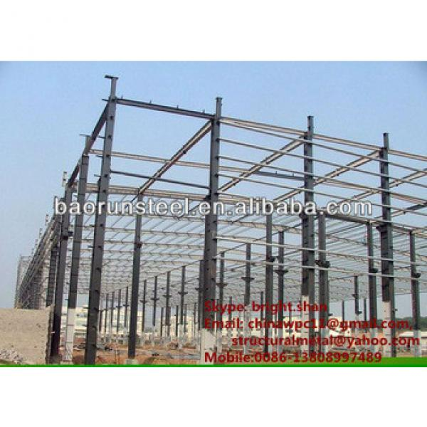 Prefabricated Steel Factory Building #1 image