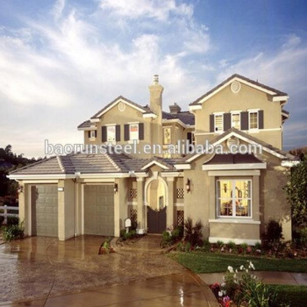 Prefabricated Kit Home/House/Villa in Steel Structure in Favorable Price #1 image