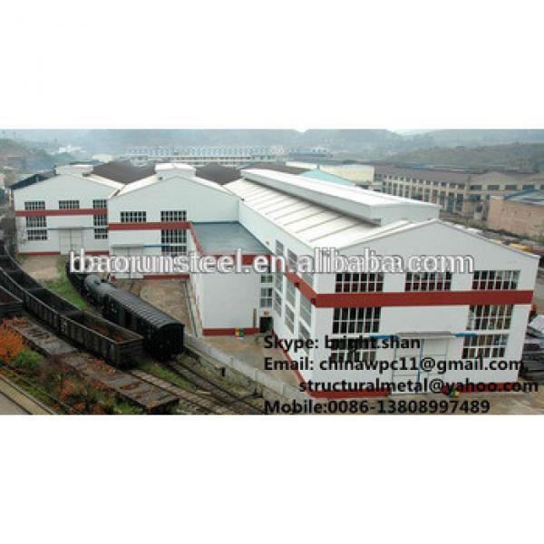 Pre Engineered Steel Warehouse Buildings #1 image