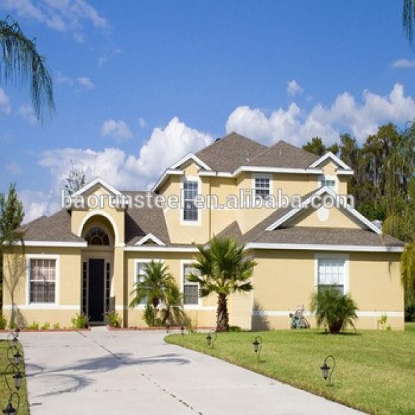Original Luxury Villa Design with Splendid Decoration Steel Prefab House #1 image