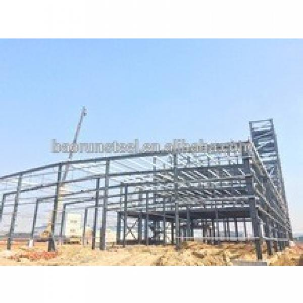 High quality turnkey construction design steel structure workshop warehouse building design #1 image