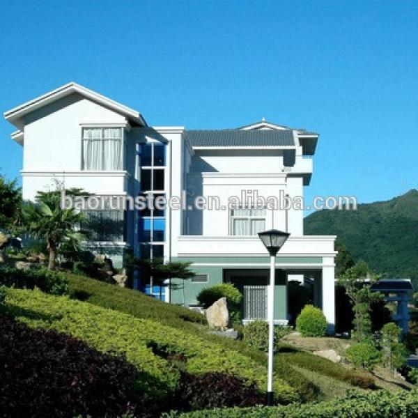 China Supplier Luxury Design Light Steel Gauge Framing Modern Prefab House #1 image