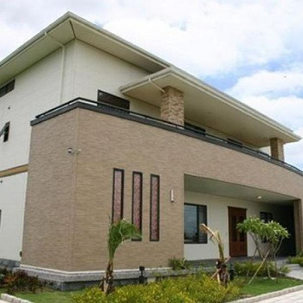 China Qingdao Baorun German steel prefabricated living house Pacific coastal style #1 image
