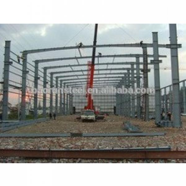 Cheap modern prefab stable structure heavy gauge steel frame buildings in Africa #1 image