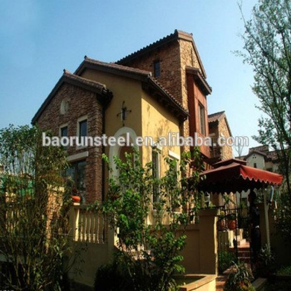 imitation wooden prefab villa #1 image