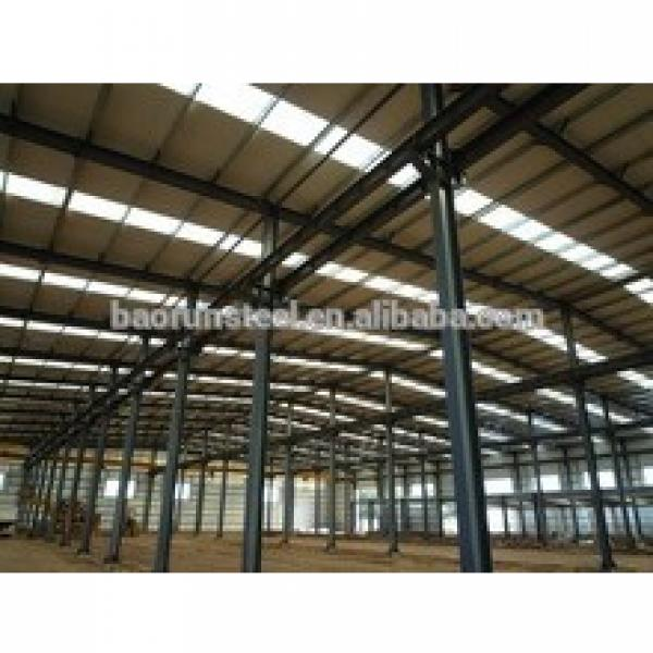 Wide Span Heavy Steel Structure Building With Iso & CE Standard #1 image