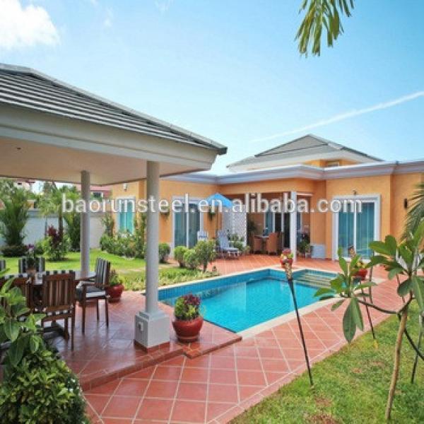 baorun design beautiful prefabricated bungalow homes #1 image