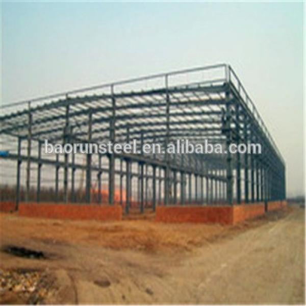 Prefabricated steel structure warehouse with good design #1 image