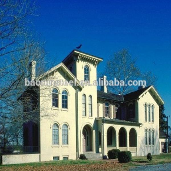 steel houses prefab home light steel villa plans/roof homes #1 image