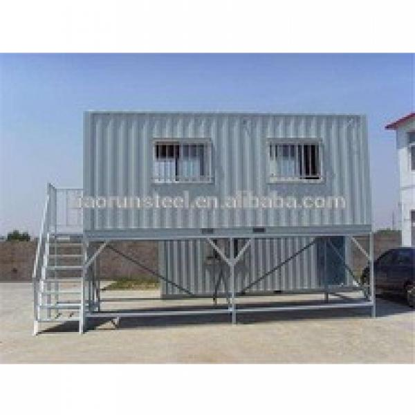Heavy duty prefabricated steel structure house #1 image