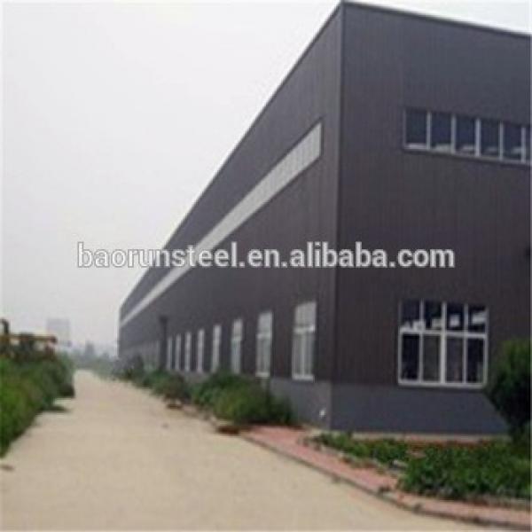 Cheap Steel company prefab steel structrue warehouse #1 image
