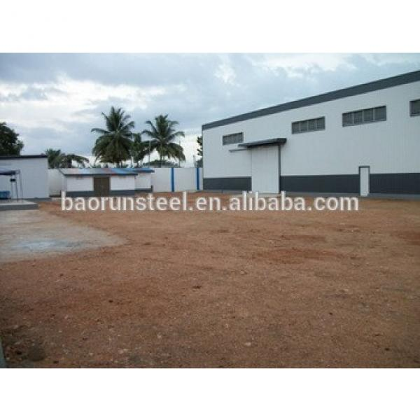 Low Cost Professional Prefab Steel Structure Construction for workshop & warehouse #1 image