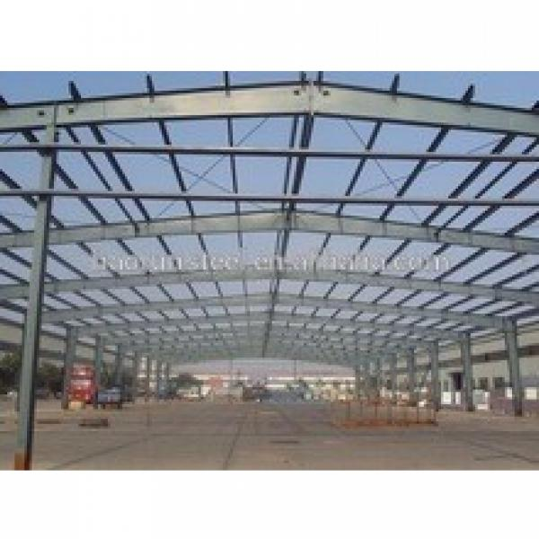 Easy install and cheap pre engineered used steel structure warehouse #1 image