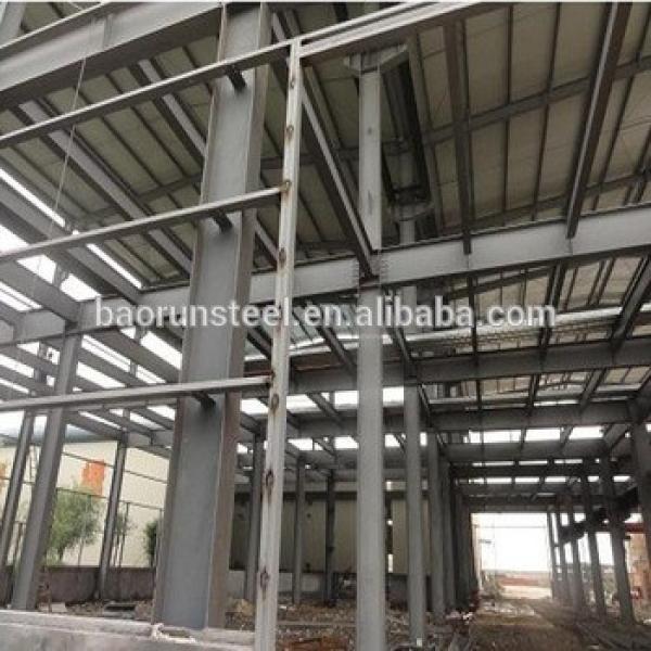Rookwool sandwich type steel structure factory workshop #1 image