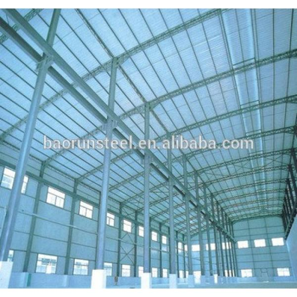 Earthquake resistant steel structure warehouse #1 image