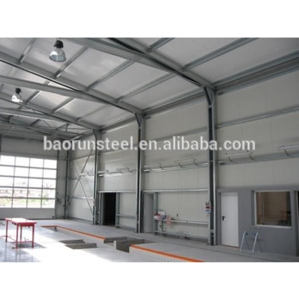 Prefabricated steel frame villa made in China #1 image