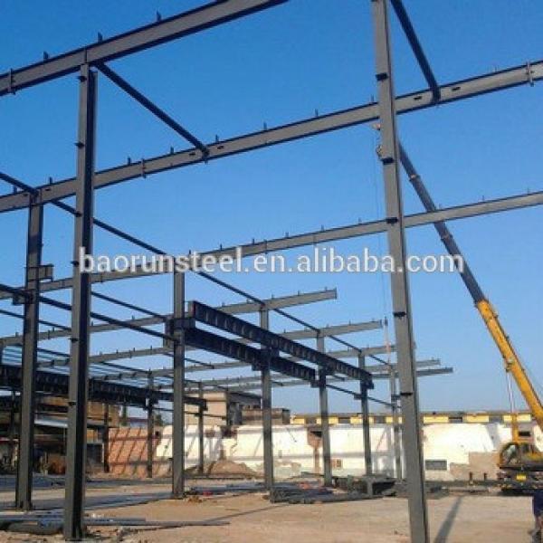 Curved Roof Design Structural Steel Shed Warehouse Workshop #1 image