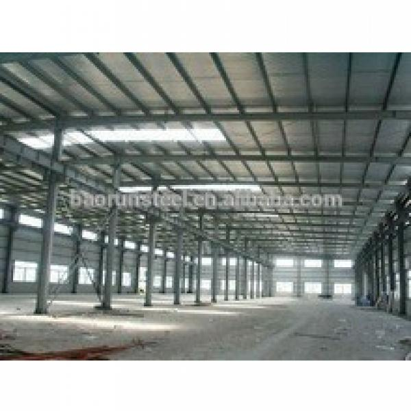 PU&EPS&Rookwool Sandwich panel steel structure warehouse/workshop/building #1 image
