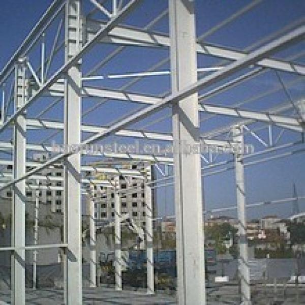 High quality large span design steel structure workshop with export Canada #1 image