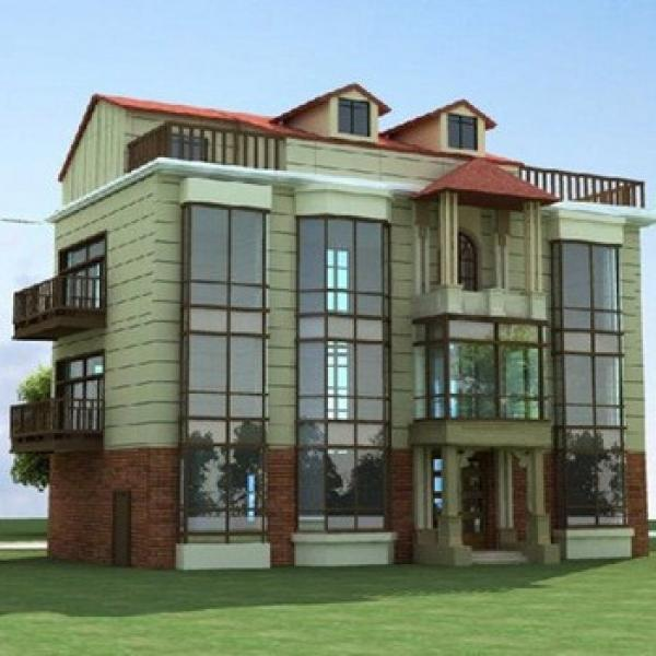 China Qingdao Baorun steel framing building Prefabricated Low-cost Steel Gauge Villa #1 image