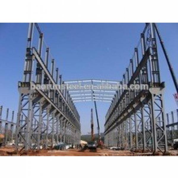 USA cutomer's prefabricated low cost light steel structure workshop #1 image