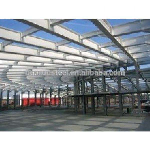 Prefabricated best load-bearing and H-beam design steel structure workshop #1 image