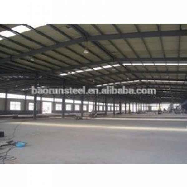 Prefabricated door type heavy/light steel structure warehouse #1 image
