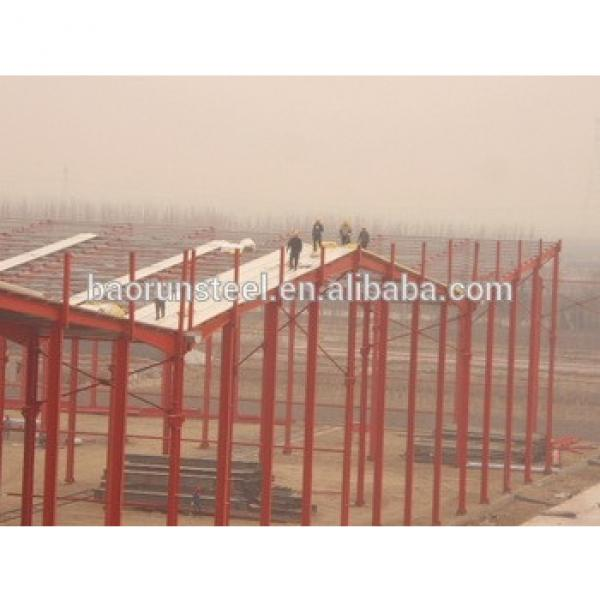Weight metal framework prefabricated structure steel shed warehouse #1 image