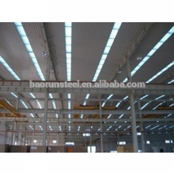 Brazil steel building construction projects light steel structure prefabricated Chinese Warehouses #1 image