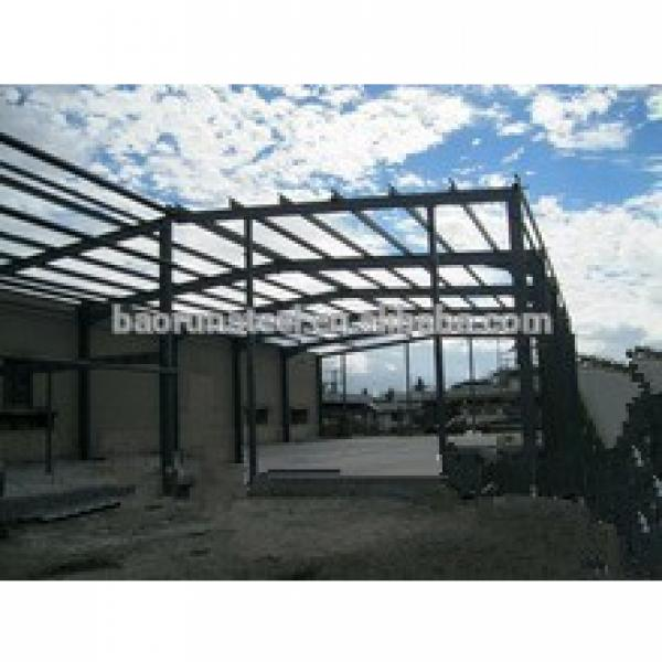 Sandwich panel wall and roof for steel structure warehouse with hoist beam #1 image