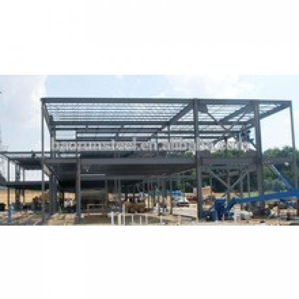 Popular steel real estate construction prefabricated steel structure warehouse #1 image
