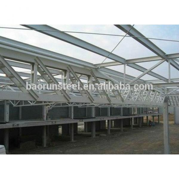 Prefabricated Steel Structure housing with PU Sandwich Panel in IRAN #1 image